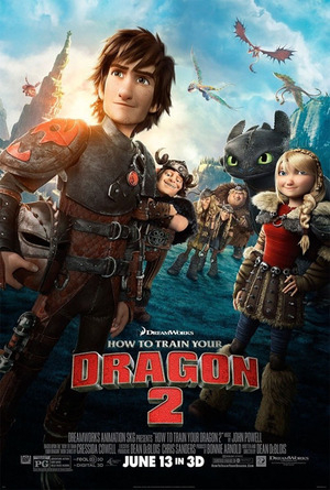 Foto Adegan Seru How To Train Your Dragon 2