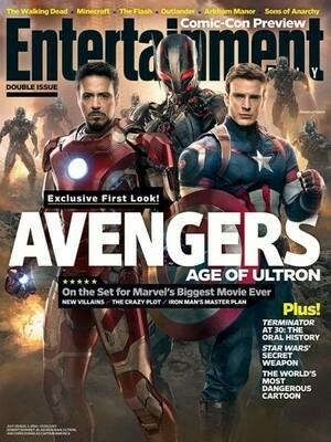Foto Adegan Avengers: Age of Ultron Ungkap Sosok Musuh Utama