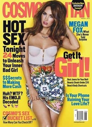 Ungkap Rahasia Pikat Pria, Megan Fox Pose Seksi untuk Cosmopolitan