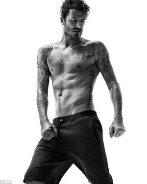 David Beckham Pamer Tubuh Seksi untuk Pakaian Dalam H&M