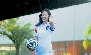 Jang Ye Won, Reporter Cantik Korea di Piala Dunia 2014
