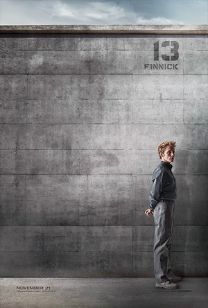 6 Poster Karakter The Hunger Games: Mockingjay
