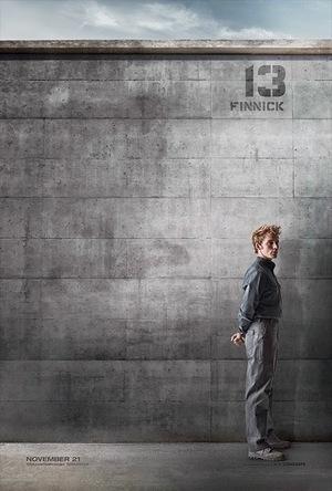 6 Poster Karakter The Hunger Games: Mockingjay