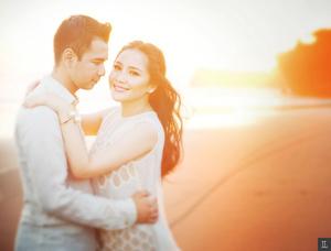 Foto Prewedding Romantis Raffi Ahmad-Nagita Slavina