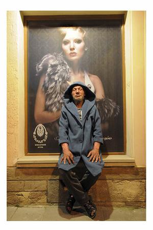 Foto: Slavik, Gelandangan Paling Fashionable asal Ukraina