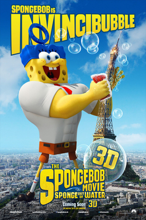 Poster Karakter The SpongeBob Movie: Sponge Out of Water