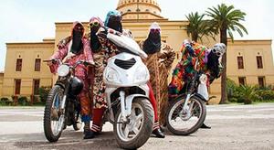 Foto Geng Motor Wanita Kesh Angel dari Maroko yang Modis dan Feminin