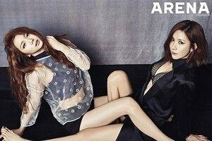 Jung Ah & Kaeun After School Seksi di Majalah Dewasa