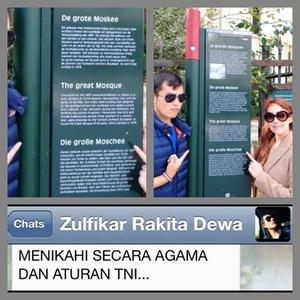 Foto Kemesraan Riana Rara Kalsum & Zulfikar Anak Deddy Mizwar