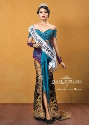Foto Cantik Puteri Indonesia 2015 Anindya Kusuma Putri