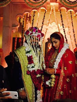 Pesta Pernikahan Mewah Rajat Tokas-Srishti Nayyar di Istana Udaipur