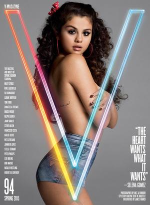 Foto Seksi Selena Gomez Topless di Majalah V