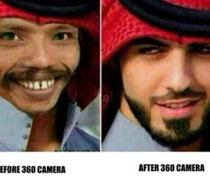 Kumpulan Meme Kocak 'Camera 360'