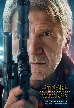 Star Wars: The Force Awakens Rilis Poster 5 Karakter Utama