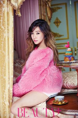 Tiffany Girls Generation Tampil Glamor Di Majalah Beauty +