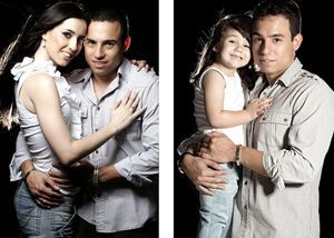 Kenang Istri, Pria Foto Pre-Wedding dengan Putrinya