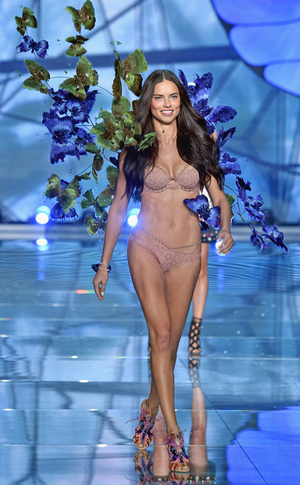 Foto Model Pakaian Dalam Seksi di Victoria's Secret Show 2015