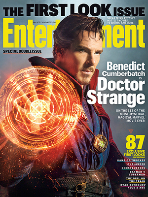 Foto Penampilan Perdana Benedict Cumberbatch Jadi Doctor Strange