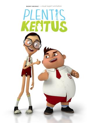 Plentis Kentus, 2 Tokoh Animasi Keren Garapan Indonesia