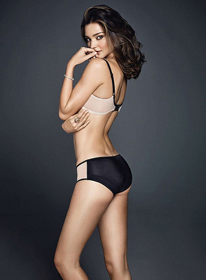 Foto Seksi Miranda Kerr Jadi Model Iklan Pakaian Dalam Wonderbra