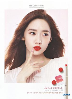 Yoona SNSD Pamer Bibir Seksi di Iklan Lipstik Innisfree