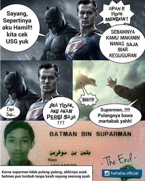 20 Meme Kocak Batman V Superman Bikin Terbahak-Bahak