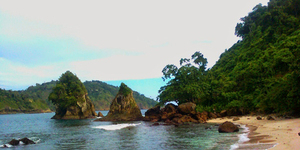 Pantai Wedi Putih - 98 Pantai Indah di Wilayah Malang