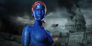 Mystique - X-Men - 10 Tokoh Antagonis Paling Cantik & Seksi di Film Hollywood