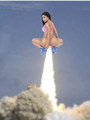 Lucu dan Seksi, Parodi Sampul Lagu Anaconda Nicki Minaj
