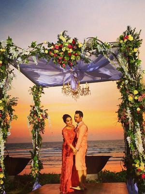 Foto Artis dalam Resepsi Raffi Ahmad-Nagita Slavina di Bali