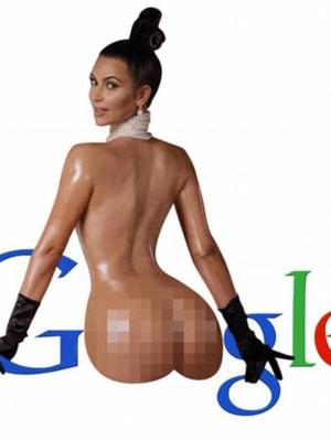 Meme Foto Bugil Bokong Kim Kardashian Bikin Ngakak!