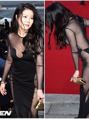 Penampilan Seksi Artis Korea di Blue Dragon Awards 2014