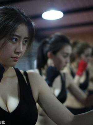 Foto Pelatihan Bodyguard Cantik & Seksi