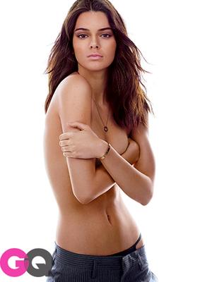 Pose Hot Kendall Jenner Topless di Majalah GQ