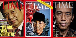 Bung Karno Hingga Jokowi Pernah Jadi Cover TIME