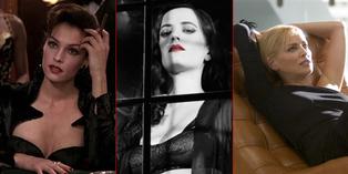 10 Tokoh Antagonis Paling Cantik & Seksi di Film Hollywood