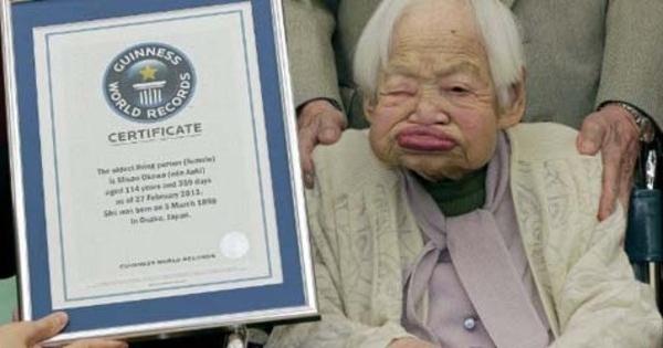 ... , Wanita Tertua di Dunia dengan Umur 114 Tahun - www.infospesial.net