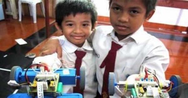 Siswa Kelas 4 Sd Surabaya Jadi Runner Up Lomba Robot