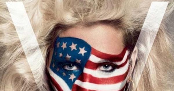 FOTO: Pose Provokatif Ke$ha Dalam Balutan Baju Motif ...