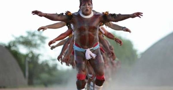 foto potret kehidupan suku amazon   8