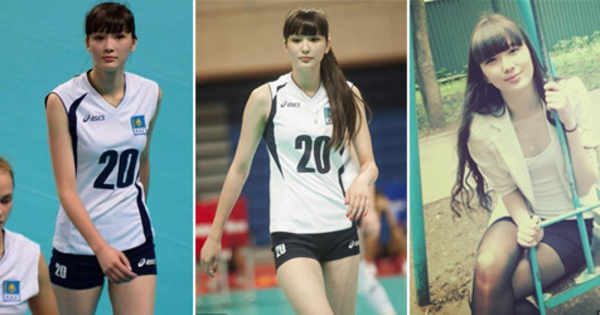 Sabina Altynbekov, Atlet Voli Cantik Kazakhstan Idola Baru Dunia Maya