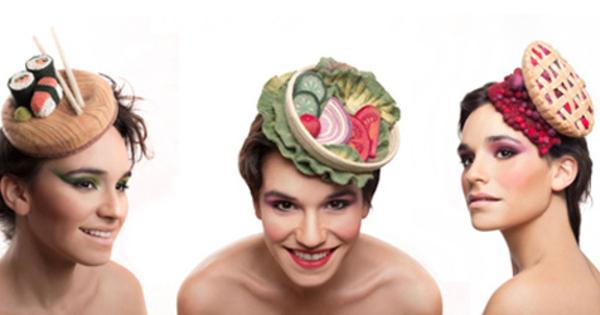 foto topi modis bertema kuliner karya mao zabar bikin ngiler